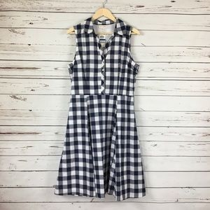 Maison Jules Buffalo Check A Line Dress NWT XL